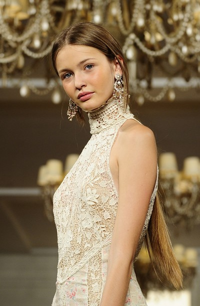 Коллекция Ralph Lauren Весна-2011 на Неделе моды Mercedes-Benz в Нью-Йорке. Фото: EMMANUEL DUNAND/AFP/Getty Images