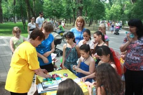 День рождения Фалунь Дафа отмечают последователи Фалуньгун в Краснодаре. Фото: Константин Соловей/Великая Эпоха (The Epoch Times)