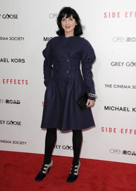 Мишель Хикс на премьере фильма «Побочные эффекты» в Нью-Йорке, 31 января 2013 года. Фото: Dave Kotinsky / Getty Images
