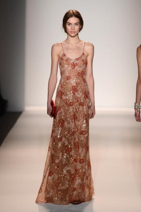 Романтическое платье 2013. Фото: Frazer Harrison/Getty Images for TRESemme