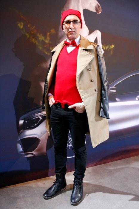 Eduard Howhannisjan на Mercedes-Benz Fashion в Берлине, 18 января 2013 года. Фото: Anke Grelik/Getty Images