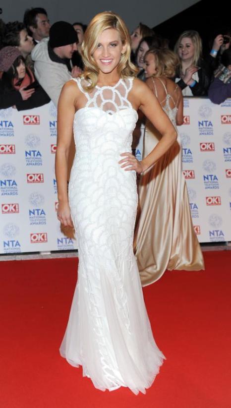 Эшли Робертс на церемонии вручения премии National Television Awards в Лондоне, 23 января 2013 года. Фото: Stuart Wilson / Getty Images