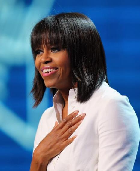 Первая леди США Мишель Обама, 21 января 2013 года. Фото: Joe Raedle / Getty Images