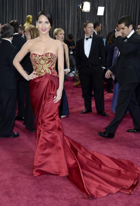 Наряды звёзд на церемонии вручения «Оскара». Фото:  Frazer Harrison/Getty Images