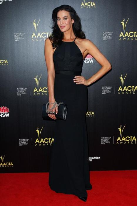 Австралийская модель и актриса Меган Гэйл на церемонии вручения премии AACTA в Сиднее, 30 января 2013 года. Фото: Lisa Maree Williams / Getty Images