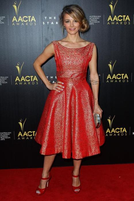 Бояна Новакович, австралийская актриса, на церемонии вручения премии AACTA в Сиднее, 30 января 2013 года. Фото: Lisa Maree Williams / Getty Images