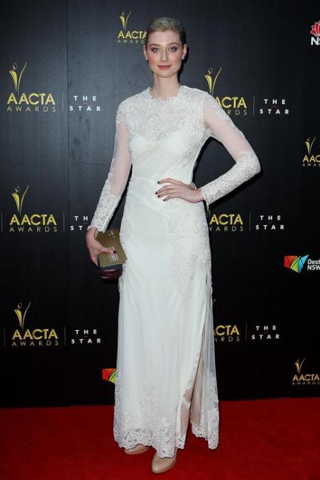 Элизабет Дебики, австралийская актриса, на церемонии вручения премии AACTA в Сиднее, 30 января 2013 года. Фото: Lisa Maree Williams / Getty Images