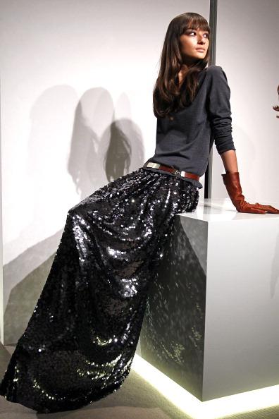 Неделя моды Mercedes Benz 2011: коллекция St. John, 2011, 9 февраля 2011, Нью-Йорк. Фото: Peter Michael Dills/Getty Images