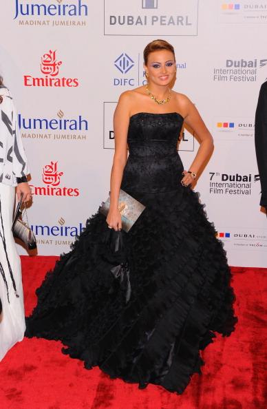 Наряды гостей на международном кинофестивале в Дубае. Фото: Andrew H. Walker/Getty Images