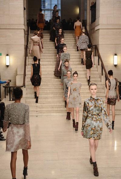 Коллекция от Erdam на лондонской Неделе моды. Фото: Ian Gavan/Getty Images