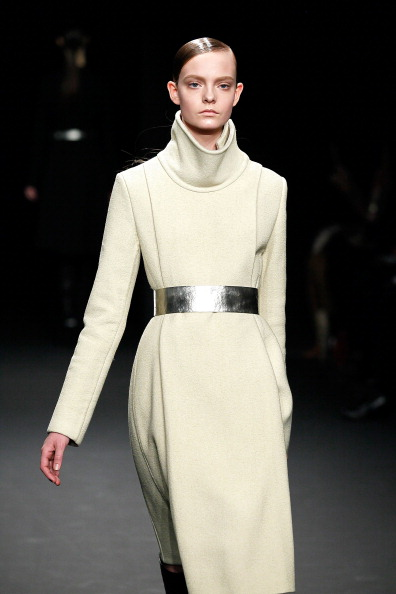 Модная одежда из коллекции Calvin Klein  осень 2012 на Mercedes-Benz Fashion Week. Фото: Peter Michael Dills/Getty Images