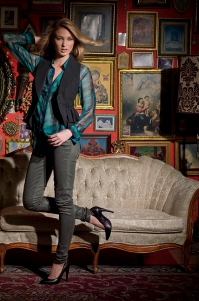 Джинсовая одежда David Kahn осень 2012. Фото: trend.kg