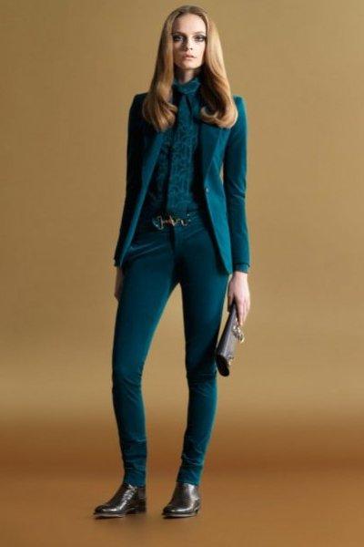 Модная одежда от Gucci осень-зима 2011-2012. Фото предоставлено AbNovki
