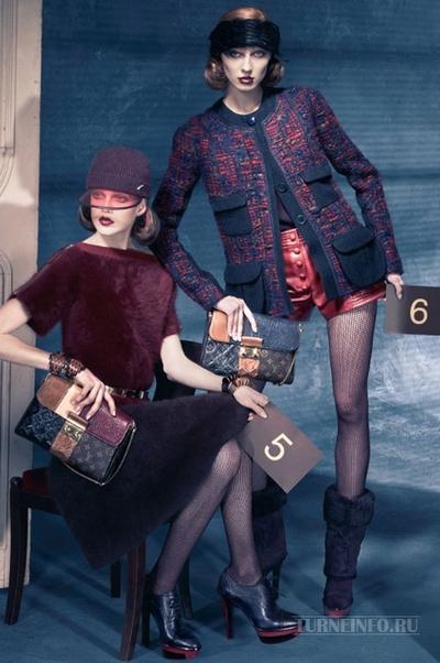 Louis Vuitton осень-зима 2011-2012. Фото: turneinfo.ru