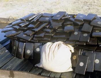 Контрабандный товар. Фото из архива РИА Новости
