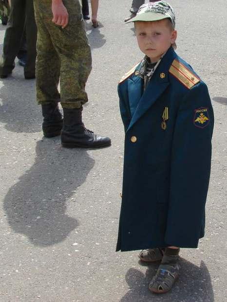 Будущий офицер. Фото: Эдуард Дыба/Великая Эпоха (The Epoch Times)