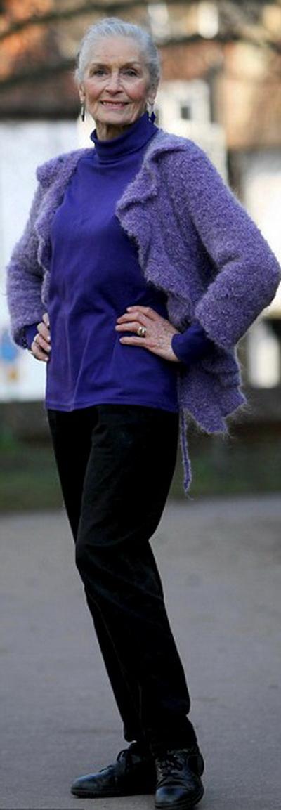 Дафна Сельф – супермодель, 82 года. Фото с сайта fashiontime