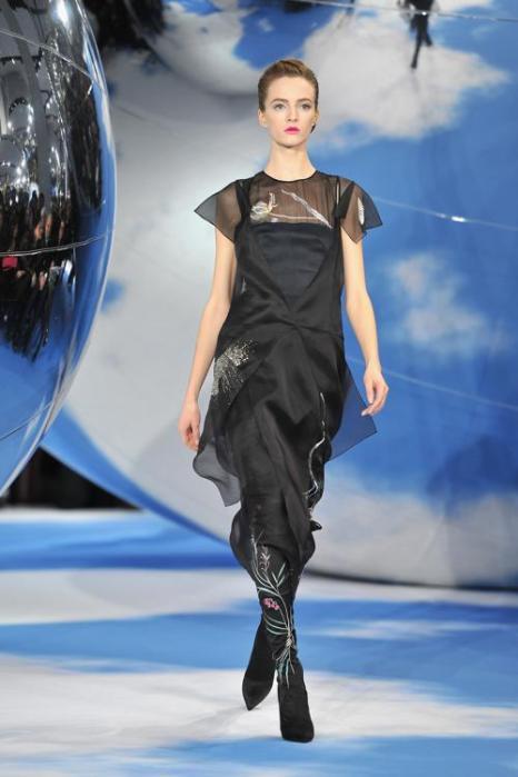 Коллекцию Christian Dior представили на Неделе моды в Париже. Фото: Pascal Le Segretain/Getty Images