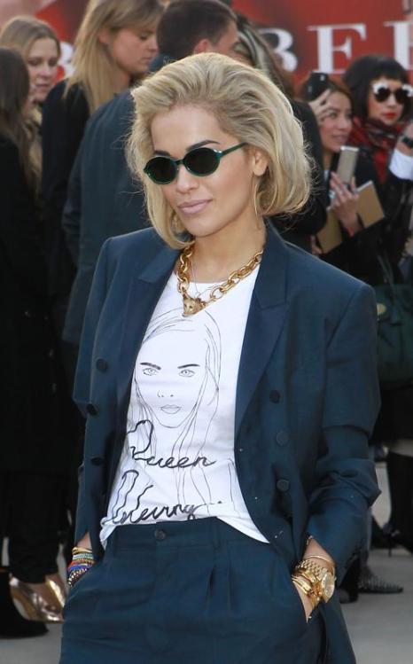 Знаменитости на Неделе моды в Лондоне. Фото: Fred Duval/Getty Images