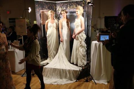 Подготовку к свадьбе представили в Нью-Йорке. Фото: Neilson Barnard/Getty Images for New York Magazine