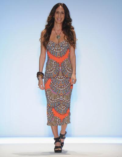 Mara Hoffman, Mercedes-Benz Fashion Week, 16 июля 2011, Майами,   Флорида. Фото: Frazer Harrison/Getty Images