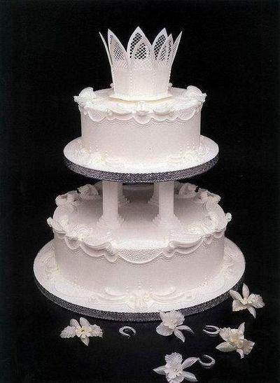 Великолепный свадебный торт. Фото: epochtimes.com