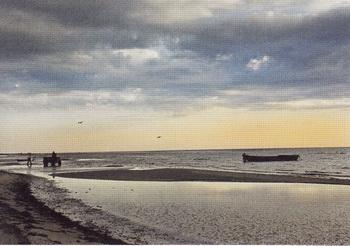 Балтийское море. Фото Гвидо Каена из книги Лолиты Шелвах «Кушанья Латвии»