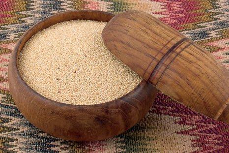 Зёрна амаранта. Фото с сайта www.bosynogi.ru