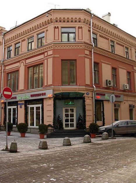 Здание на Арбате. Фото с сайта wikimedia.org