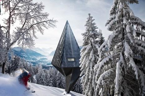 Модель дома, спроектированного датским архитектором Конрадом Вёйсиком. Фото предоставлено Конрадом Вёйсиком.