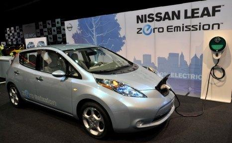 Nissan Leaf. Фото: Bryan Mitchell/Getty Images