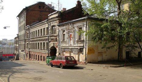 Печатников переулок. Фото: NVO/wikimedia.org