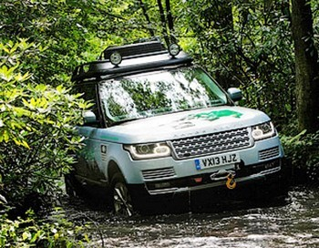 Range Rover Hybrid. Фото с сайта Land Rover