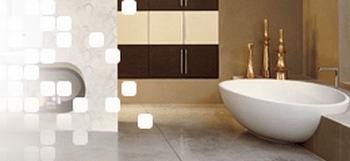 Классичесие сочетания керамической плитки в ванной. Фото с сайта  plitmarket.ru/ispaniya