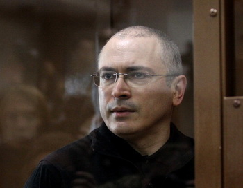 Михаил Ходорковский. Фото: Alexey SAZONOV/AFP/Getty Images