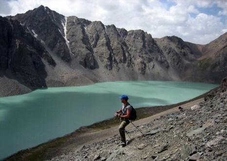Озеро Ала-Куль, Кыргызстан. Фото: ANTOINE LAMBROSCHINI/AFP/Getty Images