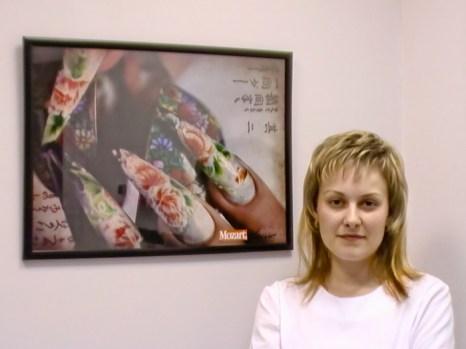 Мастер по дизайну и наращиванию ногтей Валентина Парашина. Фото: Валентина Парашина