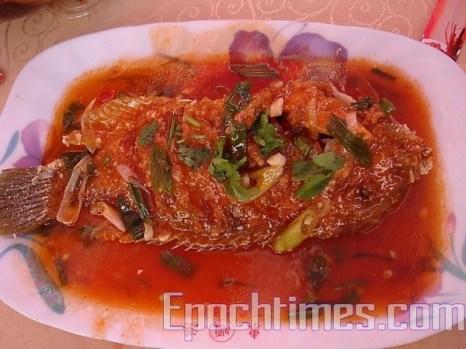 Тушёная рыба Yingge (Ингэ). Фото: Великая Эпоха (The Epoch Times)