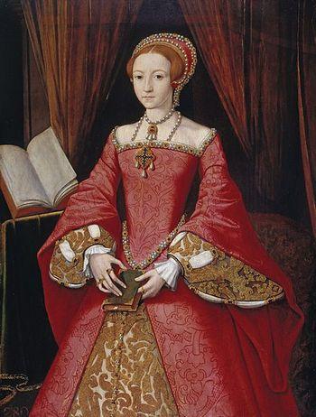 Королева Англии Елизавета I. Фото с сайта wikimedia.org