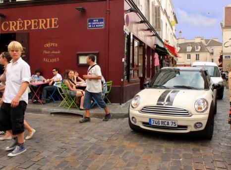 Улица на Монмартре. Фото: Ирина Рудская/Великая Эпоха (The Epoch Times)