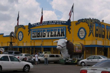 Big Texan Steak Ranch Amarillo в США. Фото: Who What Where Nguyen Why a/k/a Anonymous Cow/en.wikipedia.org