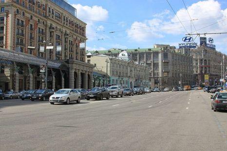 Тверская сегодня. Фото: Alexey Vikhrov/wikimedia.org