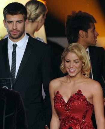 Шакира и Пике. Фото с сайта Getty Images