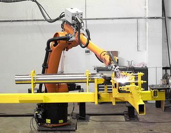 Роботы в технологическом процессе. Фото с сайта yandex.ru