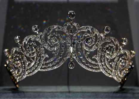 Диадема. Cartier 1902 год. Фото: FRANCOIS GUILLOT/AFP/Getty Images