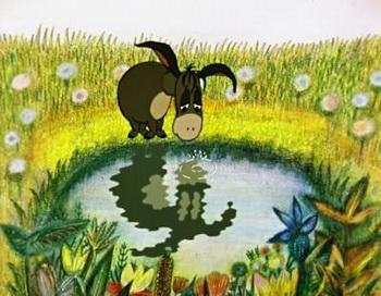 Как говорится в известном афоризме «кто-то смотрит в лужу и видит грязную воду, а кто-то - видит, как в ней отражаются звезды». Фото с сайта toontrivia.ru