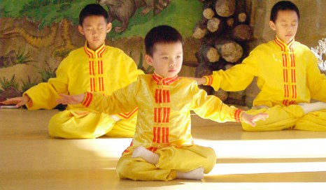 Школьные стрессы и противоречия могут перестать досаждать ребёнку, если его разум и тело получат естественную мудрость и прилив энергии. Фото: minghui.org
