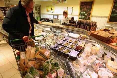 По данным статистики, потребительские цены в Германии ниже, чем в большинстве соседних стран, и лишь немного выше среднего по ЕС. Фото: Sean Gallup/Getty Images
