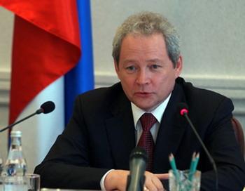 Глава ведомства Минрегионразвитие БАСАРГИН Виктор Федорович. Фото: С сайта minregion.ru
