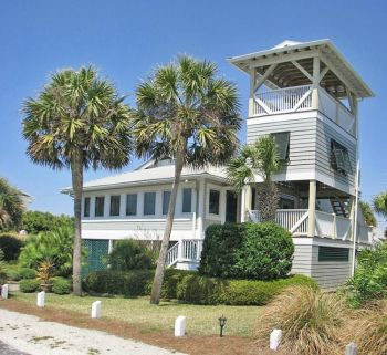 Дом на побережье, Флорида. Фото: Адам МИЛЛЕР. Великая Эпоха (The Epoch Times)
